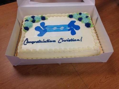Christina Defense Cake