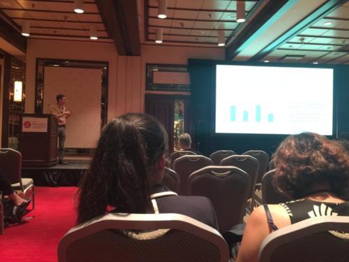 Dan presenting at Protein Society 2017