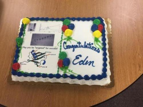 Eden's defense cake