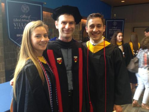 Sam  Raf graduation