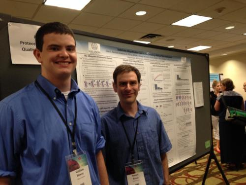 Will and Dr. Kraut present at the Protein Society meeting 2016